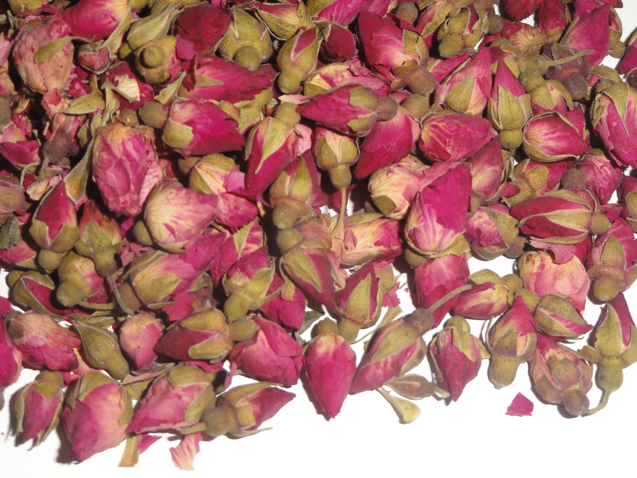 Miniature Chinese Rose Buds Dried Tea Herb Flower